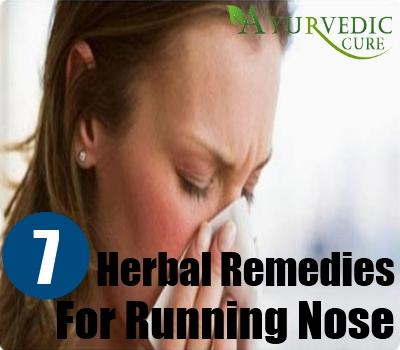 Herbal Remedies For Running Nose