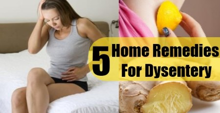 Home Remedies For Dysentery