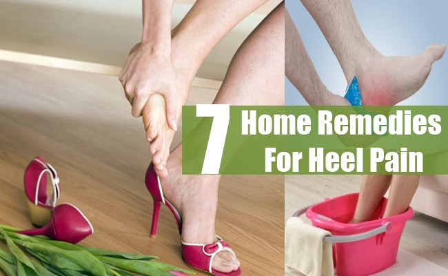 Home Remedies For Heel Pain