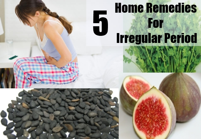 Irregular Period Home Remedies Natural Treatments Amp Cure