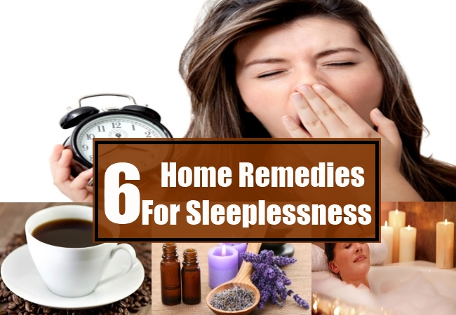 Home Remedies For Sleeplessness