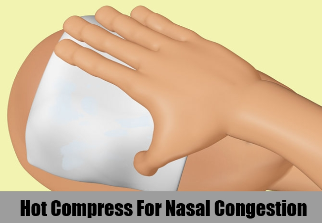 Hot Compress For Nasal Congestion