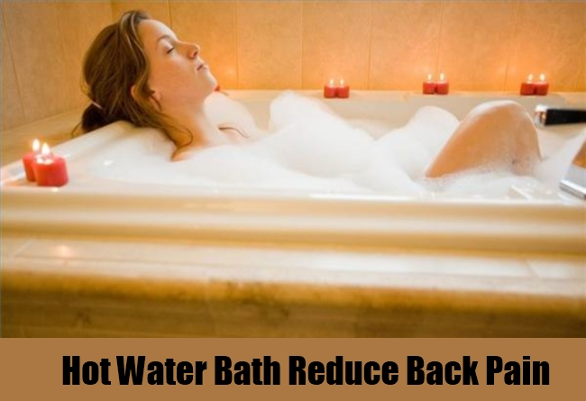 Hot Water Bath Reduce Back Pain