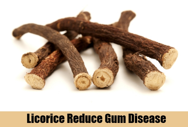 Licorice Reduce Gum Disease
