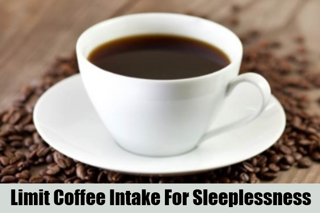 Limit Coffee Intake For Sleeplessness