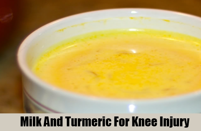Milk And Turmeric For Knee Injury