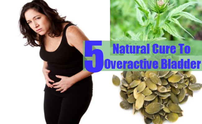 Natural Cures For Overactive Bladder