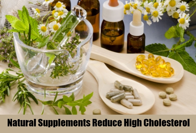Natural Supplements Reduce High Cholesterol