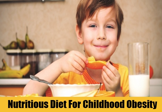 Nutritious Diet For Childhood Obesity