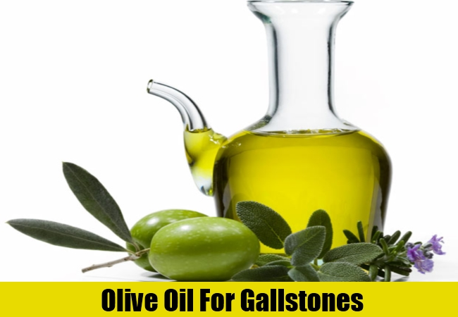 Olive Oil For Gallstones