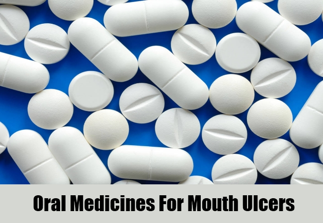 Oral Medicines For Mouth Ulcers