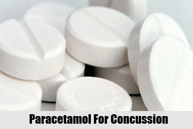 Paracetamol For Concussion