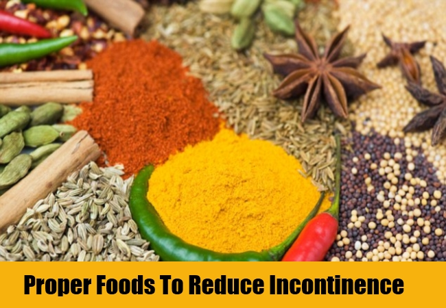 Proper Foods To Reduce Incontinence