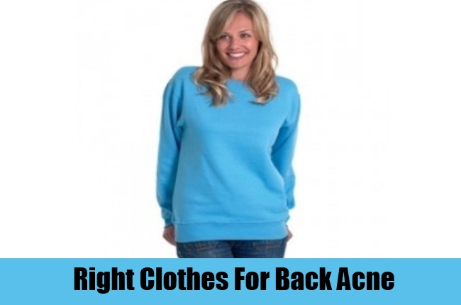 Right Clothes For Back Acne