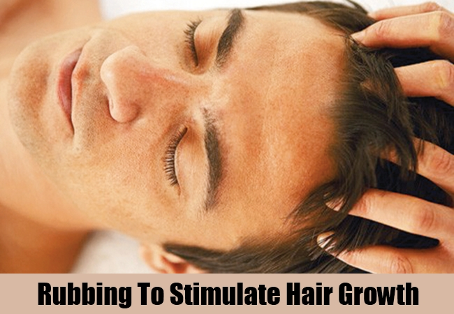 Rubbing To Stimulate Hair Growth