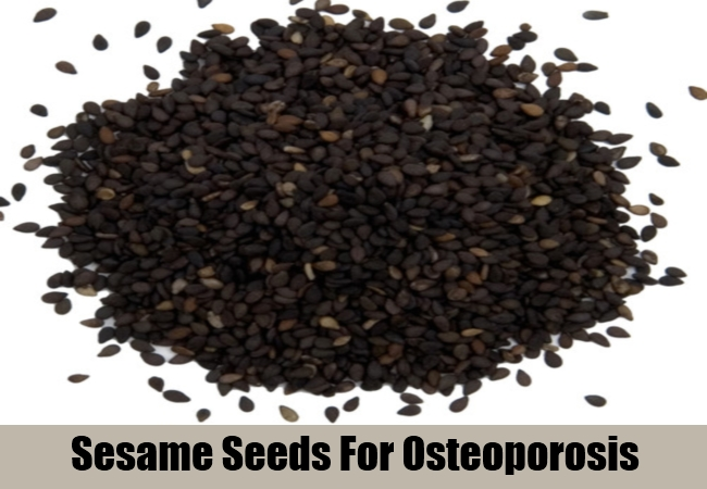 Sesame Seeds For Osteoporosis