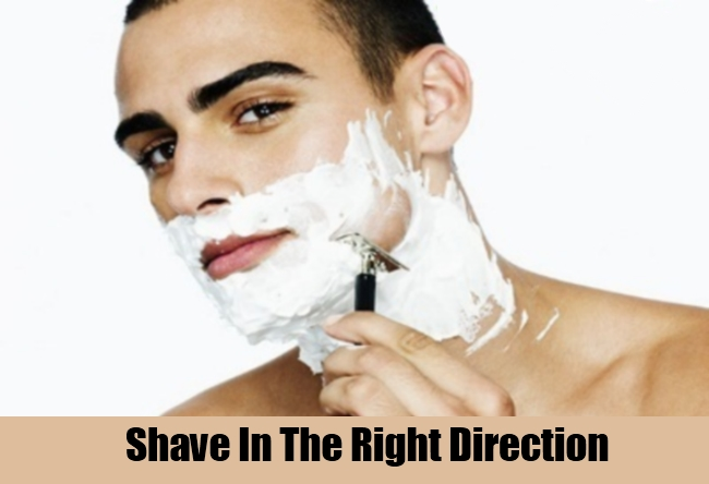 Shave In The Right Direction