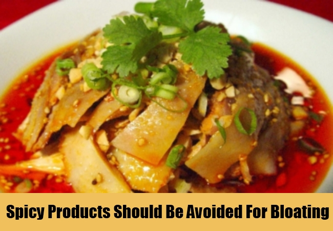 Spicy Products Should Be Avoided For Bloating