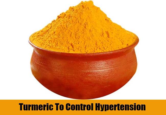 Turmeric To Control Hypertension
