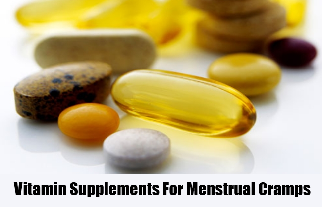 Vitamin Supplements For Menstrual Cramps