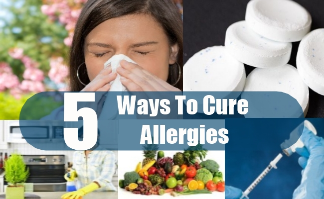Ways To Cure Allergies