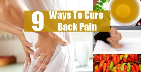 Ways To Cure Back Pain