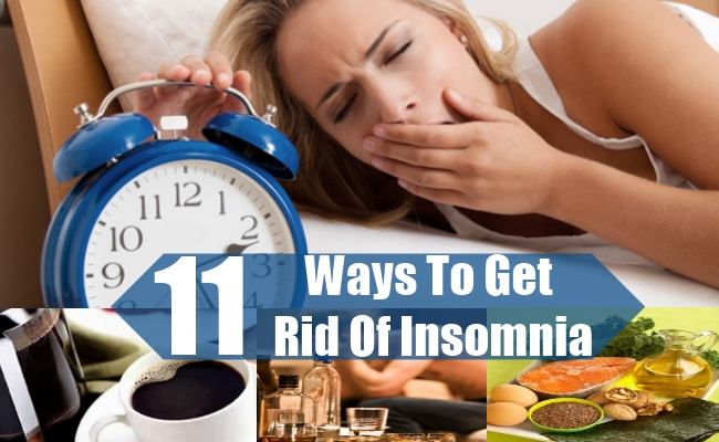 Ways To Get Rid Of Insomnia