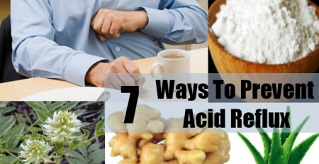 Ways To Prevent Acid Reflux