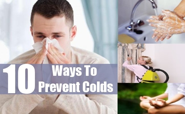 Ways To Prevent Colds