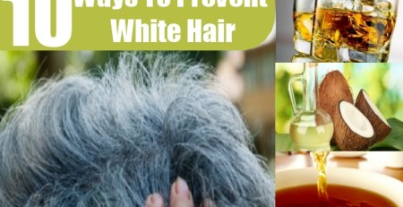 Ways To Prevent White Hair