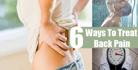 Ways To Treat Back Pain