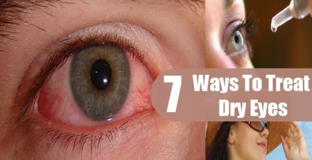 Ways To Treat Dry Eyes