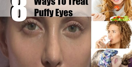 Ways To Treat Puffy Eyes
