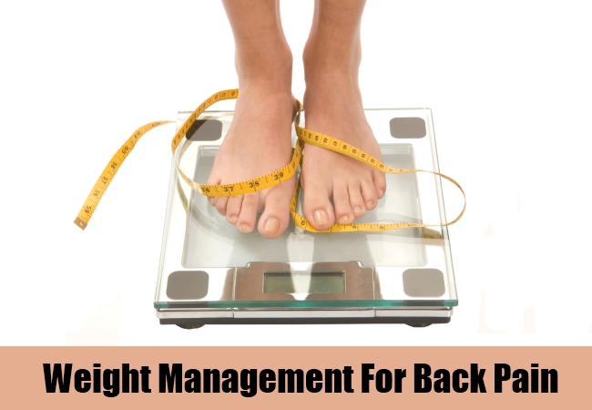 Weight Management For Back Pain