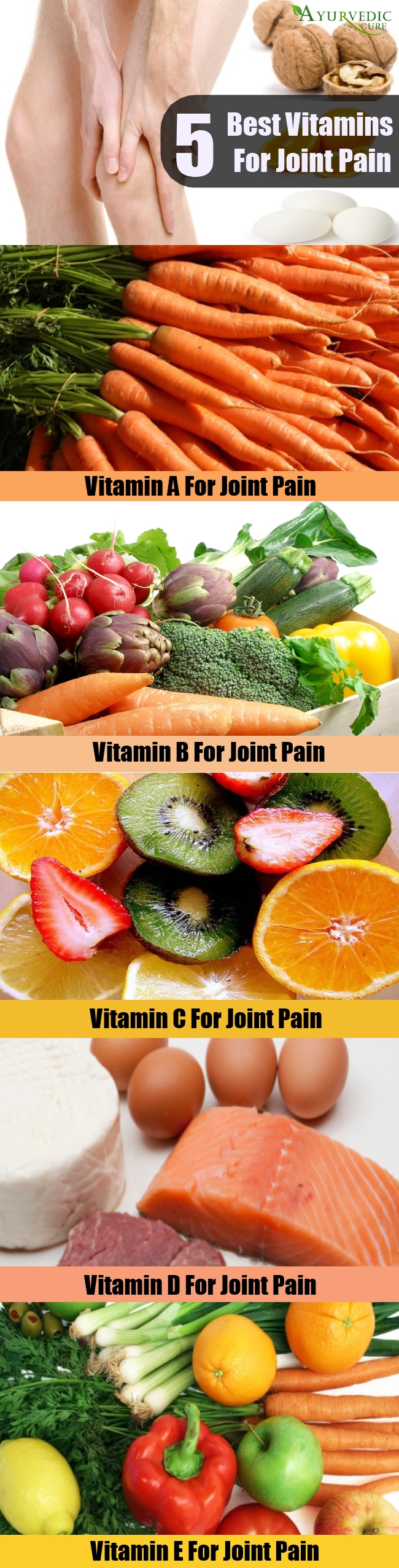 5 Best Vitamins For Joint Pain