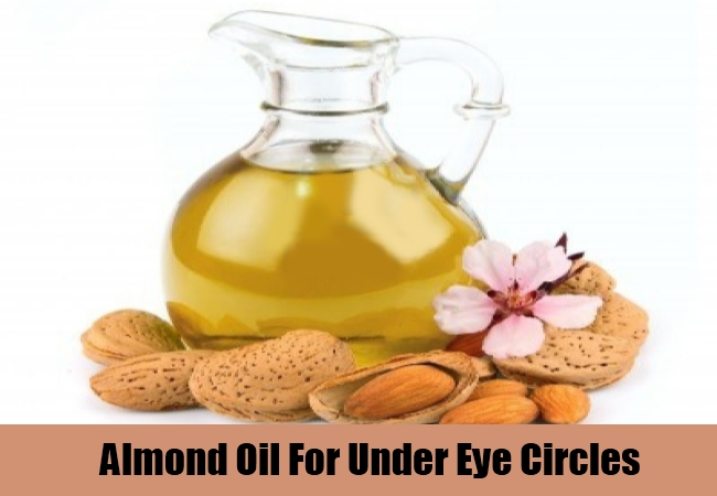 Almond Oil For Under Eye Circles