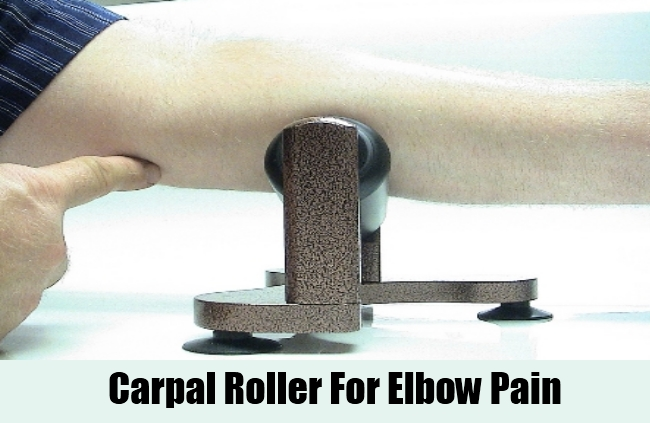 Carpal Roller For Elbow Pain