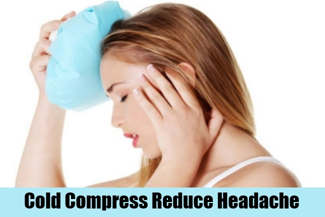 Cold Compress Reduce Headache