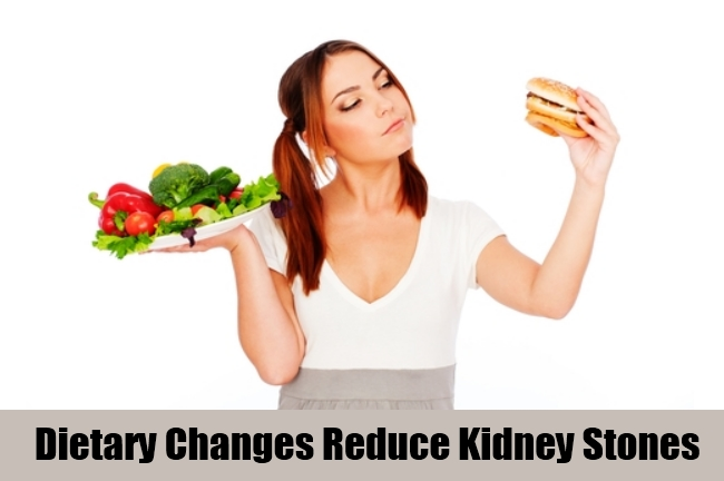 Dietary Changes Reduce Kidney Stones