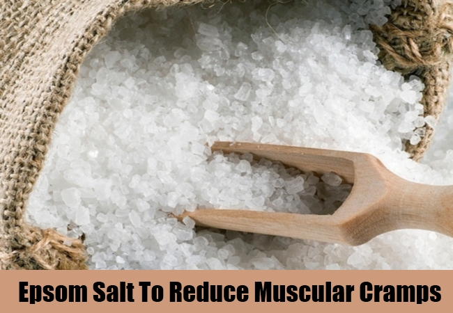 Epsom Salt To Reduce Muscular Cramps