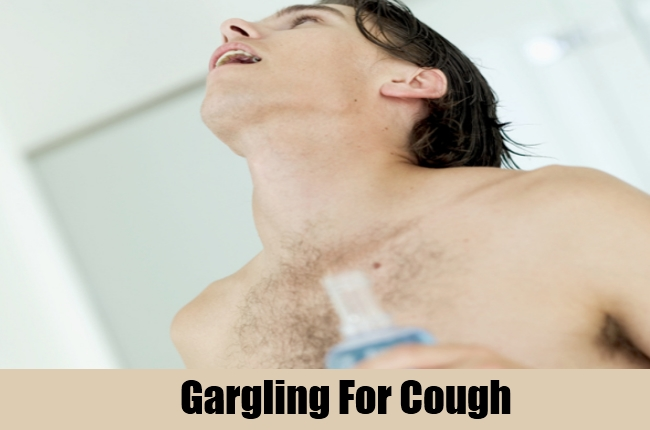 Gargling For Cough