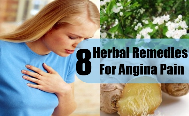 Herbal Remedies For Angina Pain