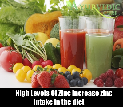 High Levels Of Zinc