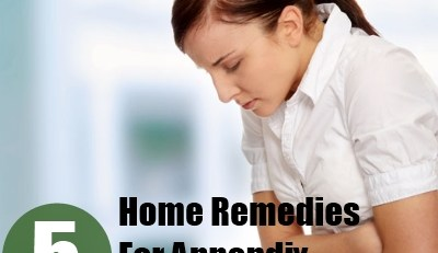 Home Remedies For Appendix Pain
