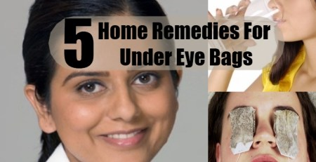 Home Remedies For Under Eye Bags