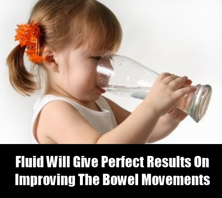 Increase The Fluid Intake