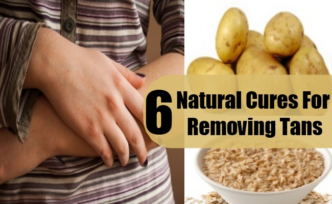 Natural Cures For Removing Tans