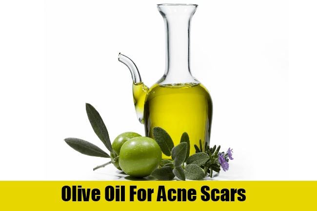 Olive Oil For Acne Scars
