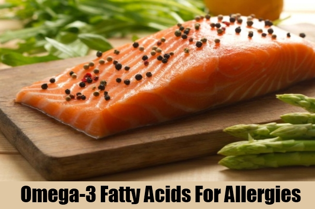 Omega-3 Fatty Acids For Allergies