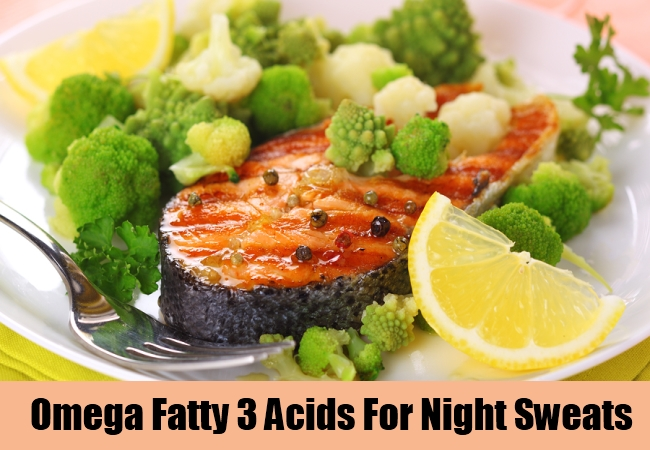 Omega Fatty 3 Acids For Night Sweats